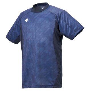 DESCENTE(デサント) DVUNJA50 メンズ 半袖プラクティスシャツ バレーボール ウェア ユニセックス