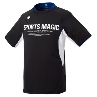 DESCENTE(デサント) DVUNJA51 メンズ 半袖プラクティスシャツ バレーボール ウェア ユニセックス