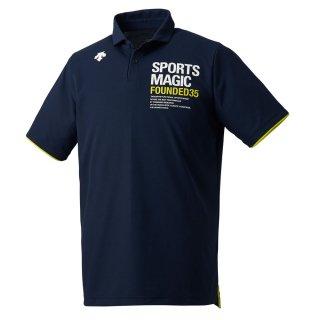 DESCENTE(デサント) DVUNJA70 メンズ 半袖 ポロシャツ カノコ バレーボール ウェア ユニセックス