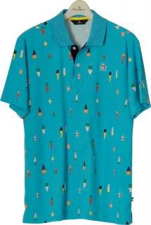 Munsingwear(マンシングウェア) MGMLJA22 メンズ ゴルフウェア 半袖ポロシャツ ハーフスリーブ トップス