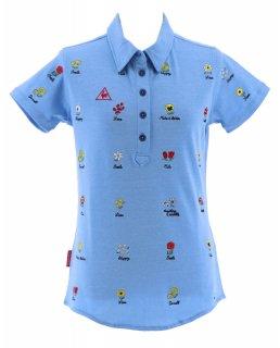 lecoq sportif(ルコック) QGWLJA18 レディース ゴルフウェア 半袖 ポロシャツ トップス