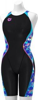 ARENA(アリーナ) FAR-9564W レディース 競泳水着 セイフリーバックスパッツ 着やストラップ FINA承認