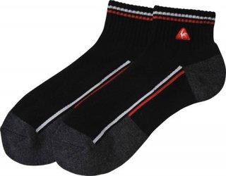 lecoq sportif(ルコック) QG0073 メンズ 抗菌防臭ショート丈ソックス ゴルフソックス 靴下