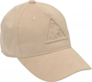lecoq sportif(ルコック) QGBOJC03 スウェードロゴ エンボスキャップ 帽子 ゴルフキャップ