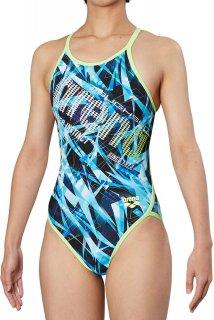 ARENA(アリーナ) FSA-9605W レディース スーパーフライバック 競泳トレーニング水着 練習用 長持ち水着