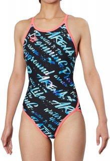 ARENA(アリーナ) FSA-9607W レディース スーパーフライバック 競泳トレーニング水着 練習用 長持ち水着