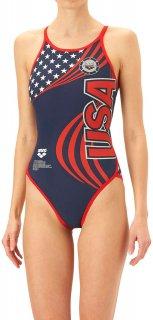 ARENA(アリーナ) FSA-O9630W TOUGHSUIT レディース スーパーフライバック タフスーツ 競泳トレーニング水着