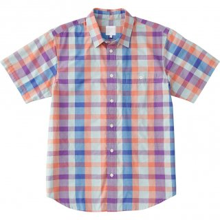 THE NORTH FACE(ザ・ノースフェイス) NR21812 SS MADRAS CHECK SH ショートスリーブマドラスチェックシャツ