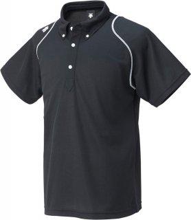 DESCENTE(デサント) DTM-4600 吸汗速乾 ボタンダウンポロシャツ トレーニングシャツ