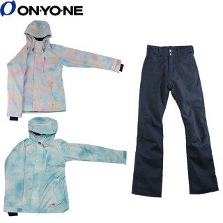 ONYONE(オンヨネ) OTS81202 レディース スノーボード スキー スーツ 上下セット グラデーションカラー