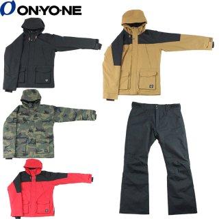 ONYONE(オンヨネ) OTS91101 メンズ スノーボード スキー スーツ マウンテンパーカーデザイン 上下セット