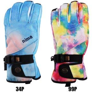 nima(ニーマ) NG-305 レディース スノーグローブ スキー スノーボード 手袋