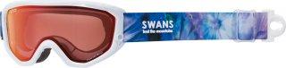 SWANS(スワンズ) 634-MPDH-PAF 大人用 シャドーミラー ダブルレンズ スノーゴーグル スキー スノーボード