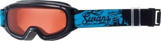 SWANS(スワンズ) JUMPIN-DH 子供用 オレンジ ダブルレンズ スキー スノーゴーグル 透過率52%