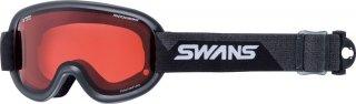 SWANS(スワンズ) V4-C/PDH-PAF 大人用 偏光ピンク調光 ダブルレンズ スノーゴーグル スキー スノーボード