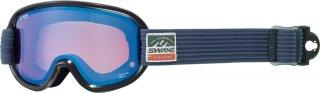 SWANS(スワンズ) V4-MPDH-PAF 大人用 パステルブルーミラー 偏光ダブルレンズ スノーゴーグル スキー スノーボード