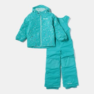 Columbia(コロンビア) SY1092 FROSTY SLOPE SET フロスティスロープセット スノーウエア キッズ 上下