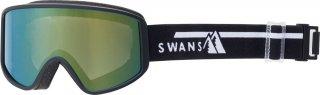 SWANS(スワンズ) 180-MDH 大人用 ミラーダブルレンズ スノーゴーグル スキー スノーボ−ド
