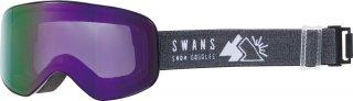 SWANS(スワンズ) 190-MDH 大人用 ミラーダブルレンズ スノーゴーグル スキー スノーボ−ド