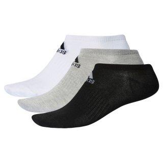 adidas(アディダス) DMK57 ベーシック 3P アンクルソックス スポーツソックス 3足セット マルチ