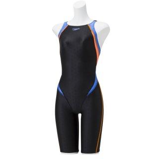 SPEEDO(スピード) SCG11909F フレックスシグマII ジュニア ガールズ オープンバックニースキン 競泳水着