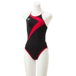 SPEEDO(スピード) STW01902 TURNS レディース 競泳トレーニング水着フリップターンズスーツ 練習用