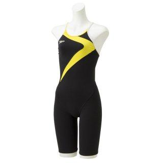 SPEEDO(スピード) STW11902 TURNS フリップターンズニースキン レディース 競泳トレーニング水着 練習用