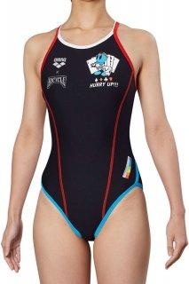 ARENA(アリーナ) FSA-9603WJ ジュニア ガールズ スーパーフライバック 競泳トレーニング水着 練習用 長持ち水着