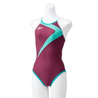 SPEEDO(スピード) STW01902 フリップターンズ スーツ レディース 競泳トレーニング水着 練習用