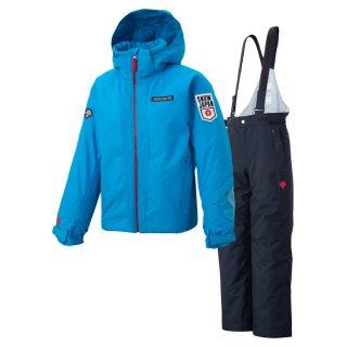 DESCENTE(デサント) DWJOJH90 ジュニア スキースーツ スキーウェア上下セット SNOW JAPAN レプリカ 子供用