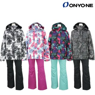 ONYONE(オンヨネ) ONS82532 レディース スキースーツ スキーウェア 上下セット 女性用