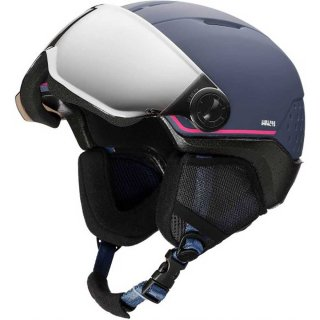 ROSSIGNOL(ロシニョール) RKIH500 WHOOPEE VISOR IMPACTS BL/PK レディース スノーヘルメット