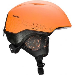 ROSSIGNOL(ロシニョール) RKIH508 WHOOPEE IMPACTS LED ORANGE キッズ スノーヘルメット