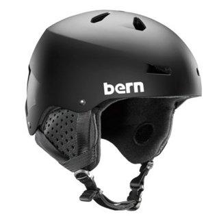 bern(バーン) BE-SM22BMBLK MACON DELUXE  スノーヘルメット ジャパンフィット スキー スノーボード