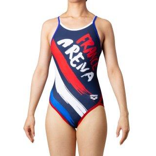 ARENA(アリーナ) SAR-0106W レディース スーパーフライバック 競泳トレーニング水着 練習用 タフスーツ