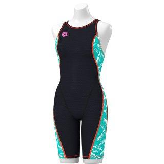 ARENA(アリーナ) SAR-0125W レディース タフハーフスパッツ 着やストラップ 競泳トレーニング水着 練習用 タフスーツ