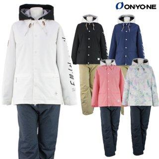 ONYONE(オンヨネ) OTS82201D/S LADIES SUIT レディース スノーボードウェア スキーウェア 上下セット スノボ