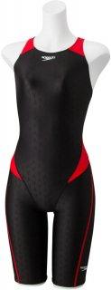 SPEEDO(スピード) SCW12002F フレックスシグマ2 レディース クローズドバックニースキン 競泳水着 FINA承認