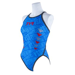 TYR(ティア) FCHEVJR-18M ジュニア ガールズ 競泳トレーニング水着 スイムスパッツ 子供 女の子用