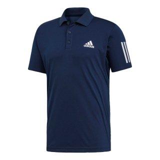 adidas(アディダス) FRW69 メンズ テニスウェア ポロシャツ TENNIS CLUB 3STR POLO