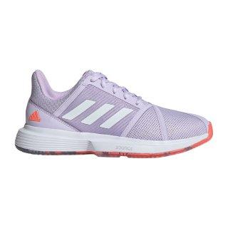 adidas(アディダス) EF2764 レディース テニスシューズ CourtJam Bounce W