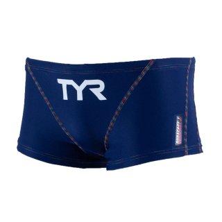 TYR(ティア) BSLIDJR-20S ジュニア ボーイズ 競泳トレーニング水着 ショートボクサー ショートボックス 練習用
