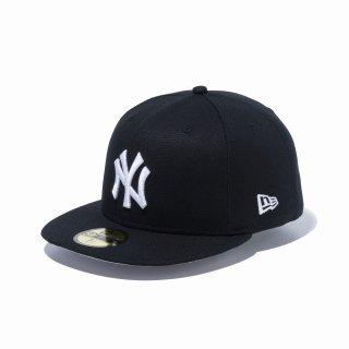 NEW ERA(ニューエラ) 12326426 59FIFTY ダックキャンバス ニューヨーク ヤンキース ブラック×スノーホワイト