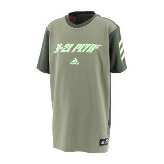 adidas(アディダス) FYH23 キッズ スポーツ 野球ウェア トレーニングウェア 半袖Tシャツ 5T Tシャツ K