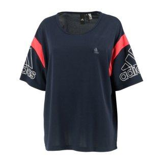 adidas(アディダス) GUN70 レディース スポーツウェア 半袖Tシャツ W MH カラーブロック ルーズTシャツ
