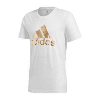 adidas(アディダス) GLZ15 メンズ スポーツウェア トレーニング 半袖 8-BiT Foil GRFX Tシャツ