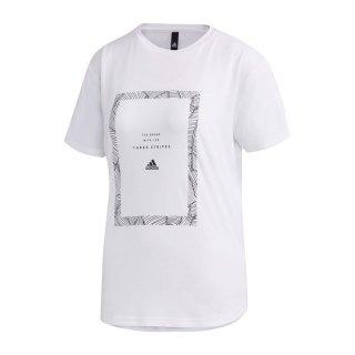 adidas(アディダス) GVF56 レディース スポーツウェア 半袖Tシャツ W MH WORD Tシャツ
