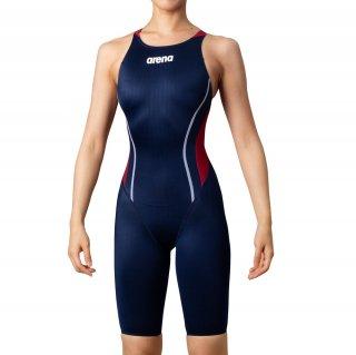 ARENA(アリーナ) ARN-0030W レディース ハーフスパッツ クロスバック 競泳水着 水泳 FINA承認