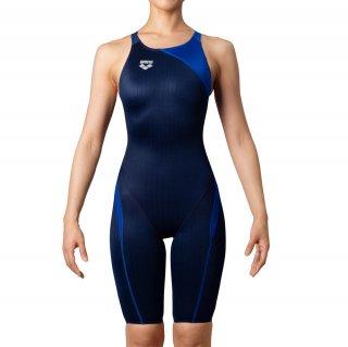 ARENA(アリーナ) ARN-0034W レディース ハーフスパッツ クロスバック 競泳水着 水泳 FINA承認