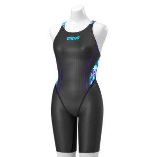 ARENA(アリーナ) ARN-0044W レディース ハーフスパッツ クロスバック 競泳水着 FINA承認モデル